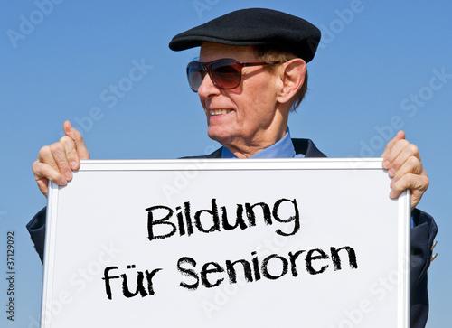 Bildung für Senioren
