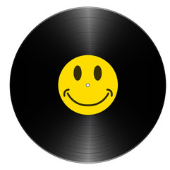 Vinyle_Smiley