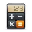 Detaily fotografie kalkulačka icon