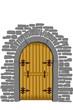 Holz-Portal