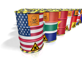 TOXIC UNITED STATES OF AMERICA