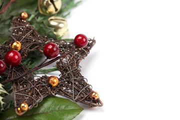 Wicker Christmas star