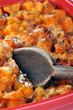 Courges butternut gratinées au parmesan