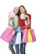 Argent shopping bonheur