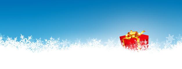 Schneekristalle, Eisblumen, Geschenk, Hintergrund, Schnee