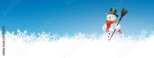 Schneemann, Winterdienst, Schneedienst, winterlich