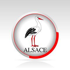 bouton Alsace
