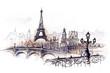 Leinwandbild Motiv Paris (series C)