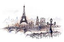 """Постер, картина, фотообои """"Paris (series C)"""""""