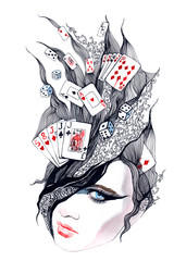 Casino - she is in excitement (series C)