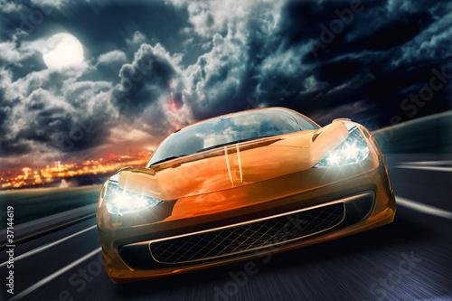 Fototapeten,sportwagen,autos,tuning,racing car