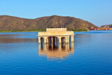 Water Palace (Jal Mahal) in Man Sagar Lake. Jaipur, Rajasthan