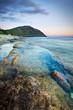 Crépuscule sur le récif de Grande Anse - Réunion