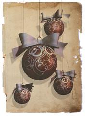 christmas bauble decoration vintage