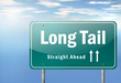 "Highway Signpost ""Long Tail"""
