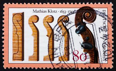Postage stamp Germany 1993 Mathias Klotz, Violin Maker