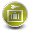"Yellow Glossy Icon ""Locker / Storage"""
