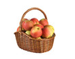 .Apples in the basket