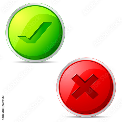 Right and Wrong Icon
