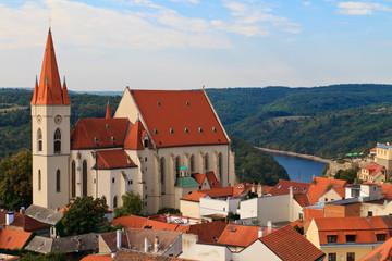 Znojmo / Znaim, Church of St. Nicolas, Czech Republic