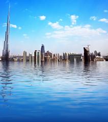 Dubai modern cityscape
