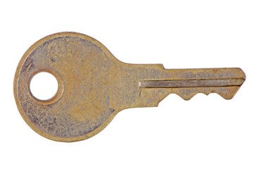Used metal key
