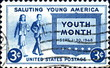 Saluting Young America. Youth Month.1948. US Postage.