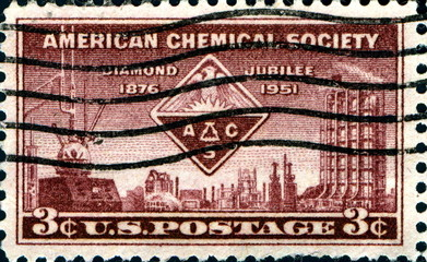 American Chemical Society. US Postage.