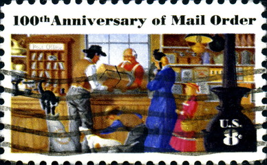 100 th Anniversary of Mail Order. US Postage.