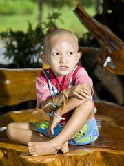 Asian boy portrait