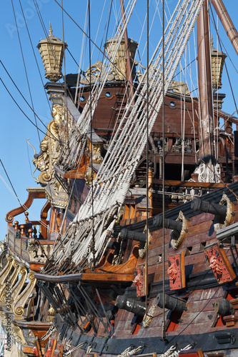 historical galleon - antico galeone
