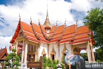 temple church Chalong