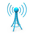Blue Antenna Tower