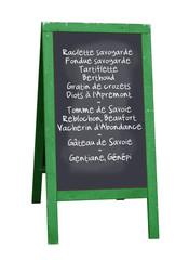 Ardoise restaurant (Savoie)