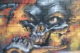 Arte urbano. Detalle de un graffiti en una pared - 37160297