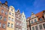 Old Town Houses in Gdansk