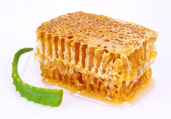 Aloe and honeycomb