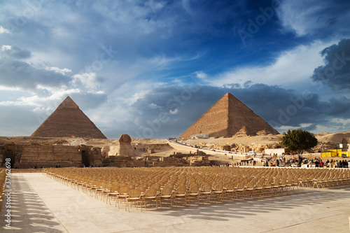 Fototapeta sfinks - Kair - Starożytna Budowla