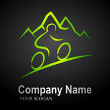 mountain bike logo 2 (black background)