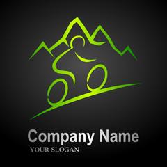 mountain bike logo 2 (black background)