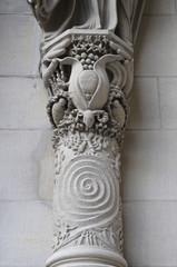 Cathedral Church, Saint John the Divine, Detail, New York, USA