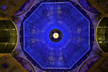 La Cupola della Galleria a Milano - Natale 2010