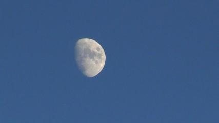 Mond am Abendhimmel
