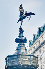 Piccadilly Circus at London, England