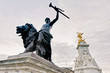 Queen Victoria Memorial at London, England