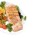 Salmon Fillet With Vegetables