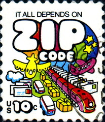 It all depends on ZIP CODE. US Postage.