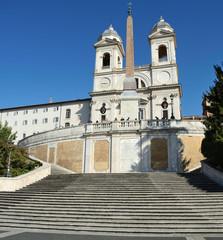 Trinità dei Monti, Scalinata di Piazza di Spagna, Roma