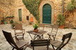 italian backyard, Tuscany