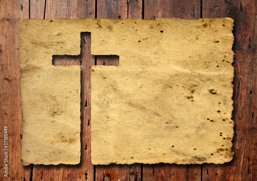 High resolution christian cross banner